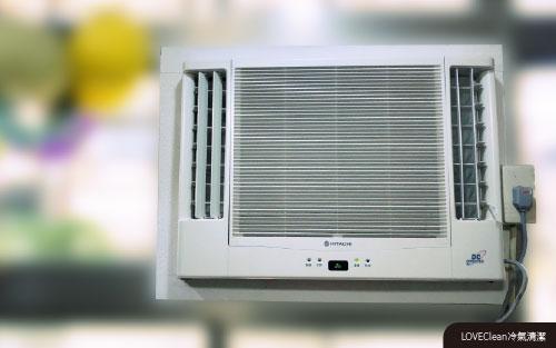 窗型冷氣清潔-確認冷氣運轉情況