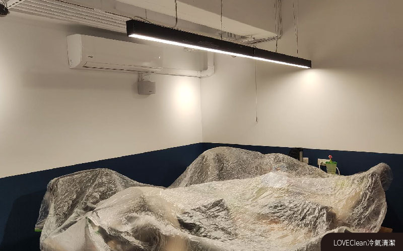冷氣清潔-防護周圍家俱