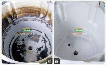 愛潔淨-洗衣機清洗成果2