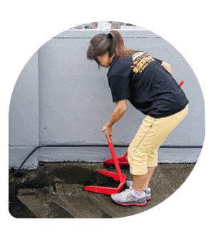 社區大樓-頂樓排水孔清潔