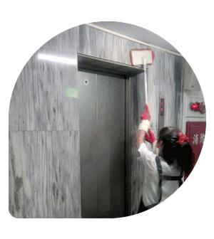 社區大樓-電梯清潔