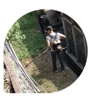 社區大樓-園藝修剪