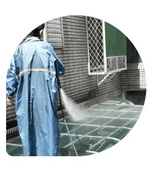 社區大樓-高壓沖洗地面