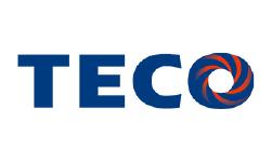 TECO冷氣logo標示