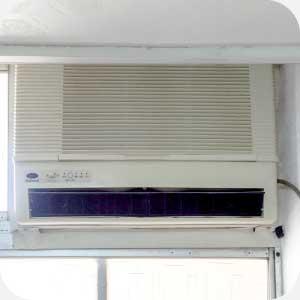 安裝窗型冷氣範例圖