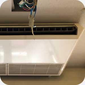 安裝吊隱式冷氣範例圖