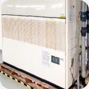 安裝氣冷/水冷式箱型冷氣範例圖