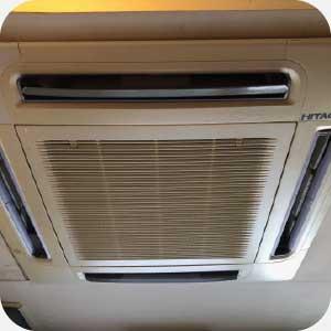 安裝四方吹冷氣範例圖