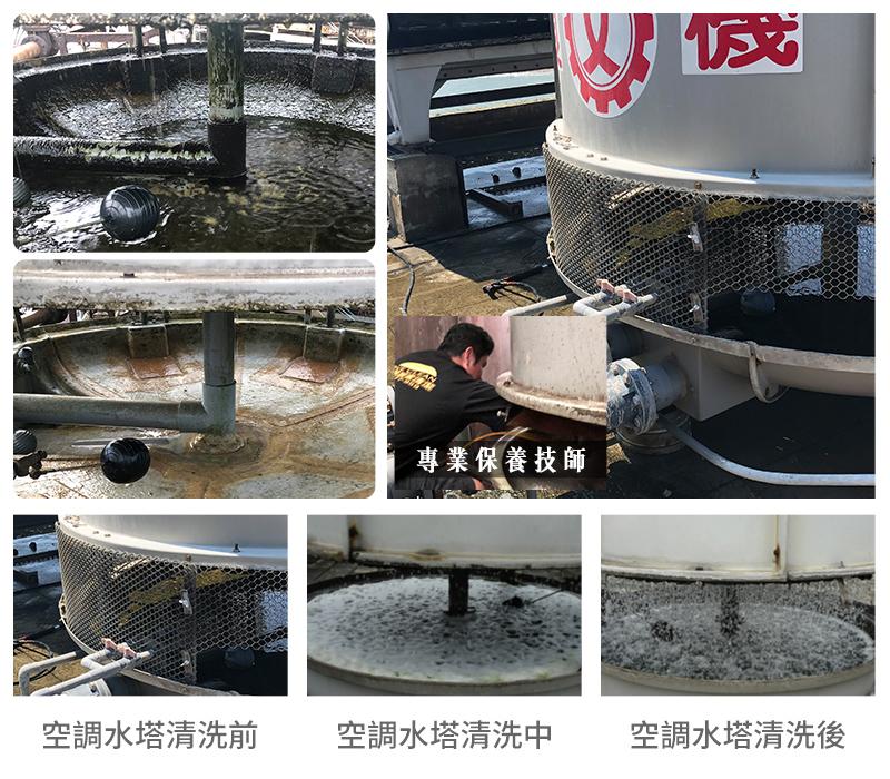 空調水塔保養流程